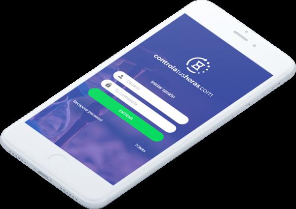 inicio de controlatushoras.com la app para gestionar el registro de jornada