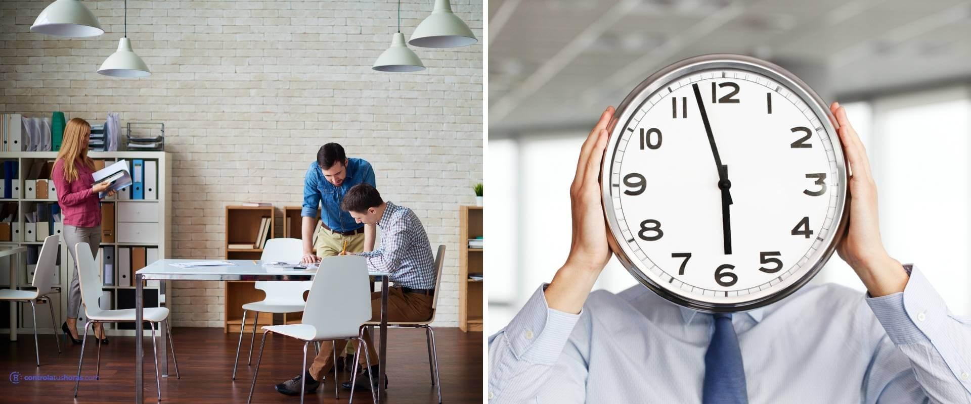 pausas en el trabajo