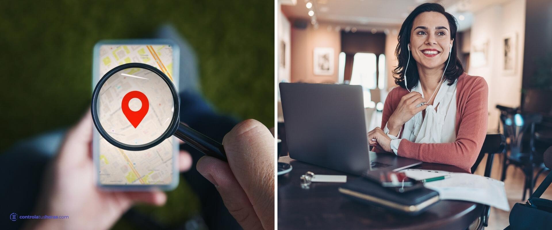 Usar geolocalización para controlar la jornada laboral y el teletrabajo
